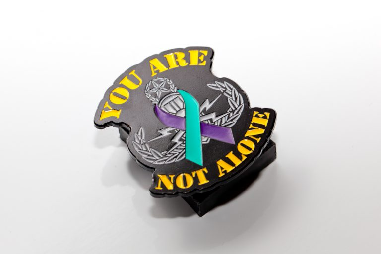 You are not alone EOD pin