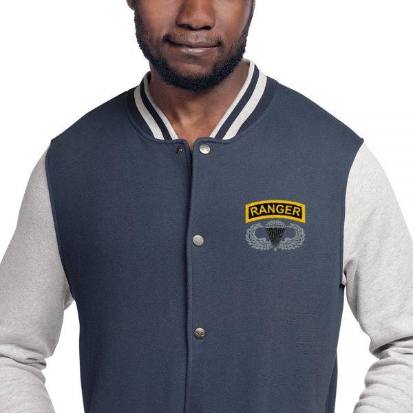 Airborne Ranger Bomber Jacket grey