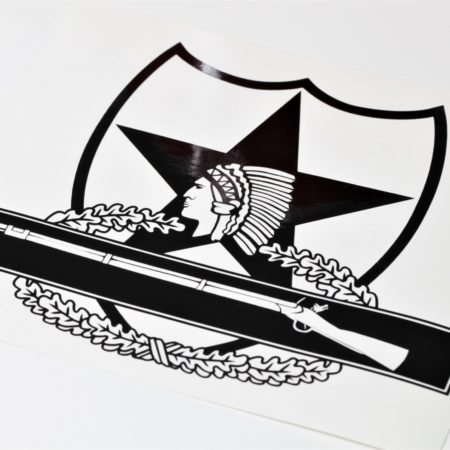 2nd infantry cib vinyl decal
