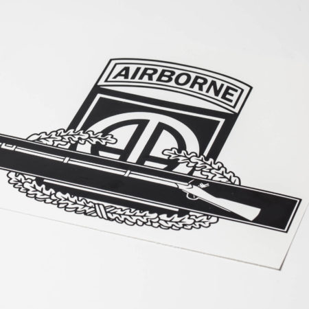 82nd airborne cib vinyl decal